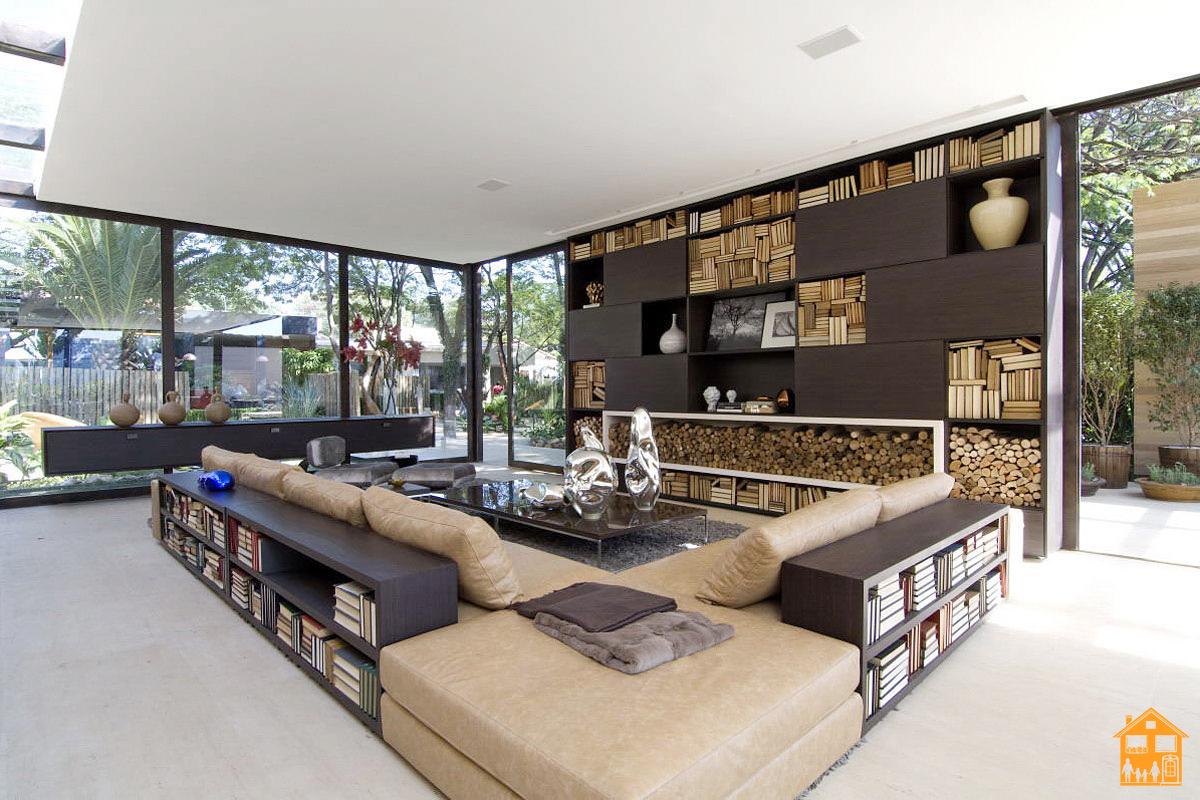 Modern Country Wohnzimmer
