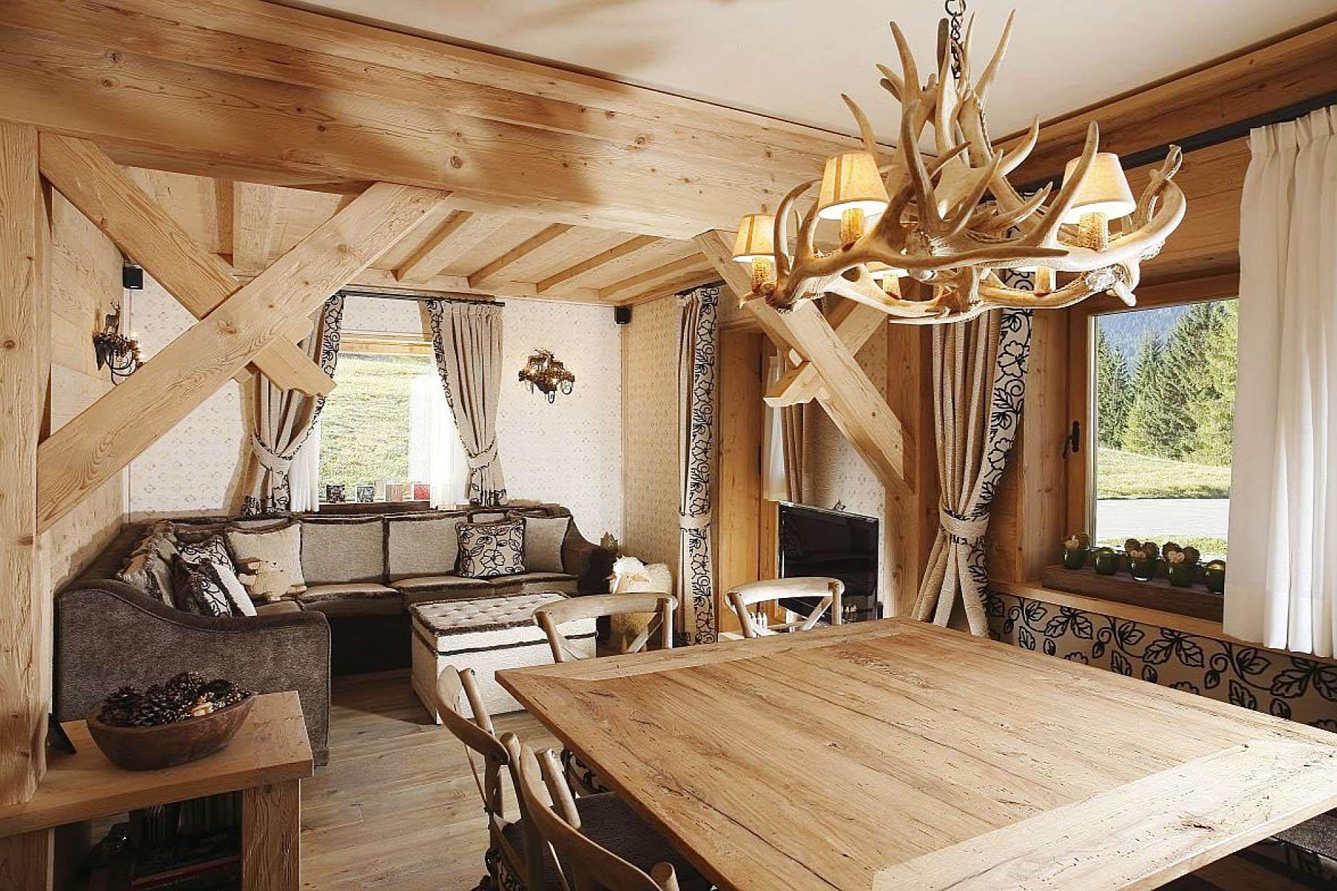Дизайн деревенского дома внутри своими руками (фото) 92