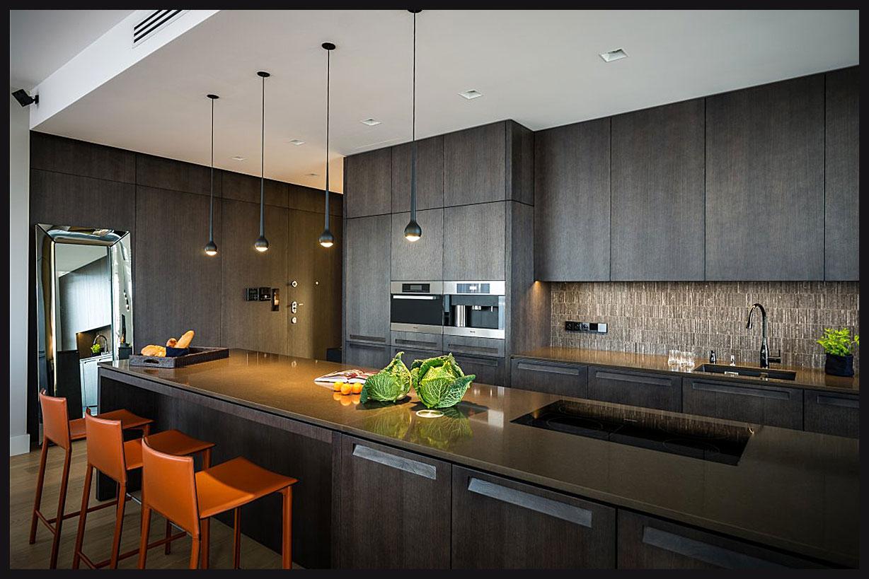 Дизайн кухоньгалерея стильных кухонь