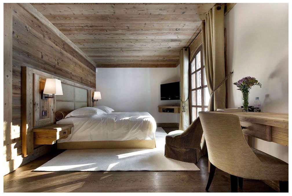 Gallery of deco chambre style chalet meilleures images d