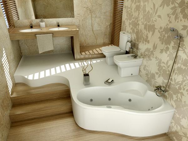 ванна из акрилового камня