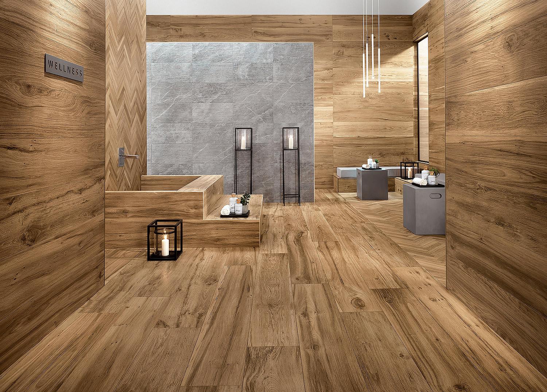 виниловая плитка в ванной комнате