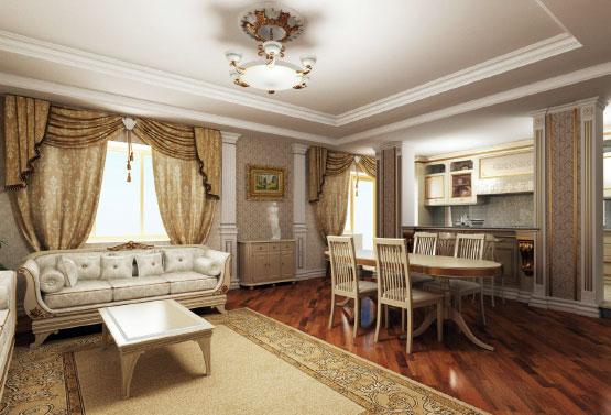 4х комнатная квартира в Москве