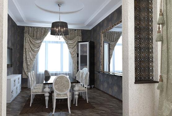 Частный дом с элементами арт-деко