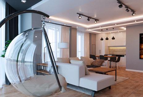 Дизайн 3-х комнатной квартиры в Ростов-на-Дону
