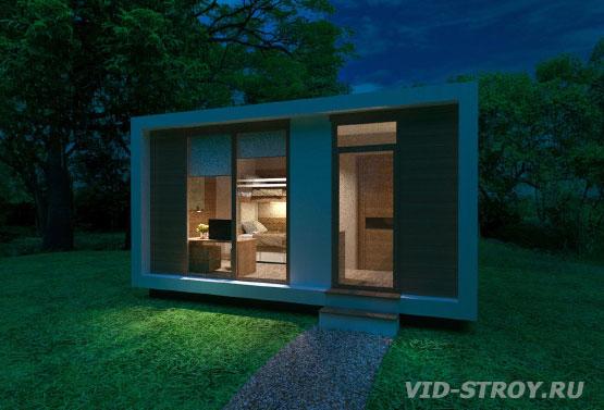 Дизайн проект модульного дома