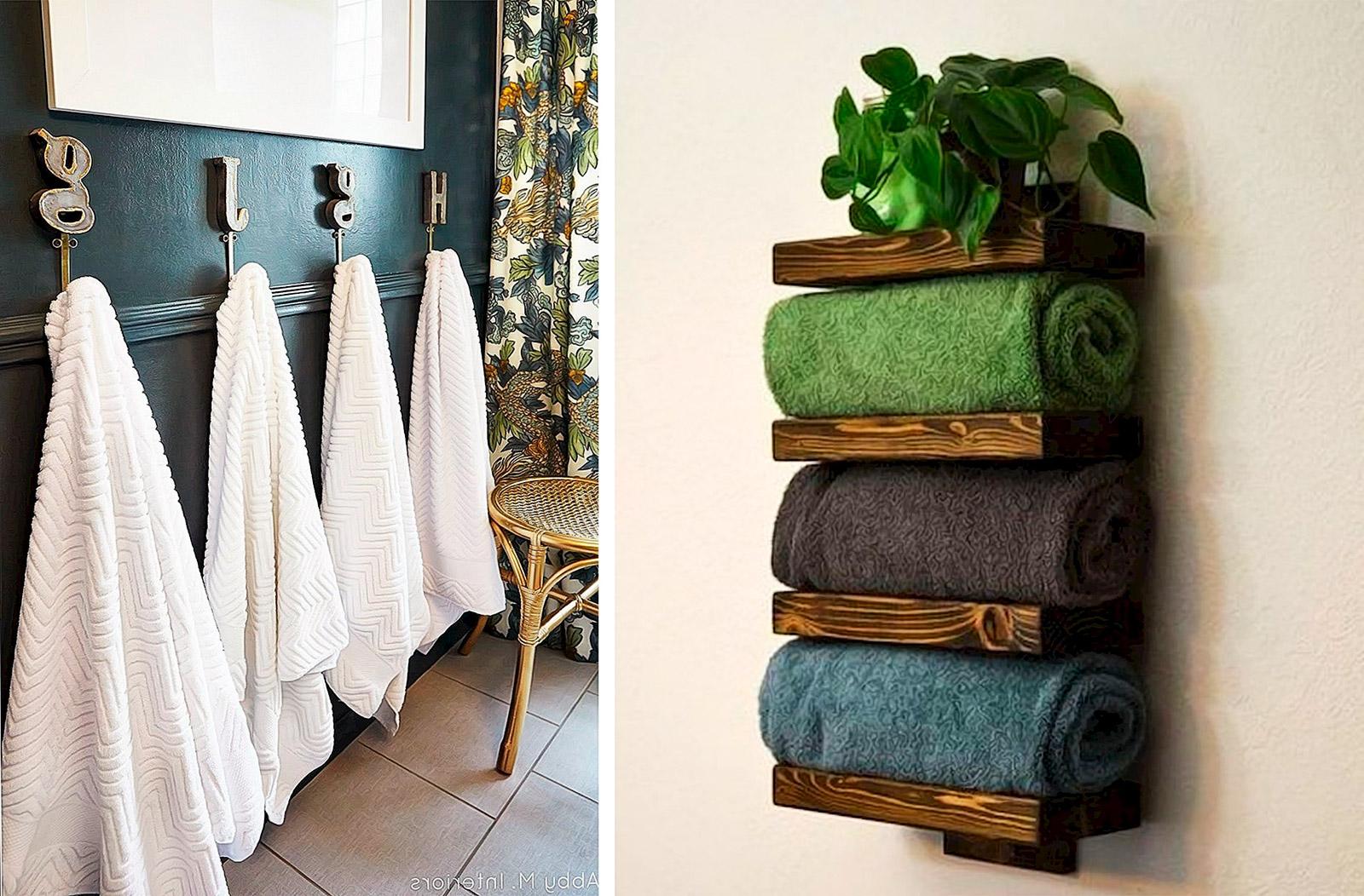 интересные крючки для полотенца