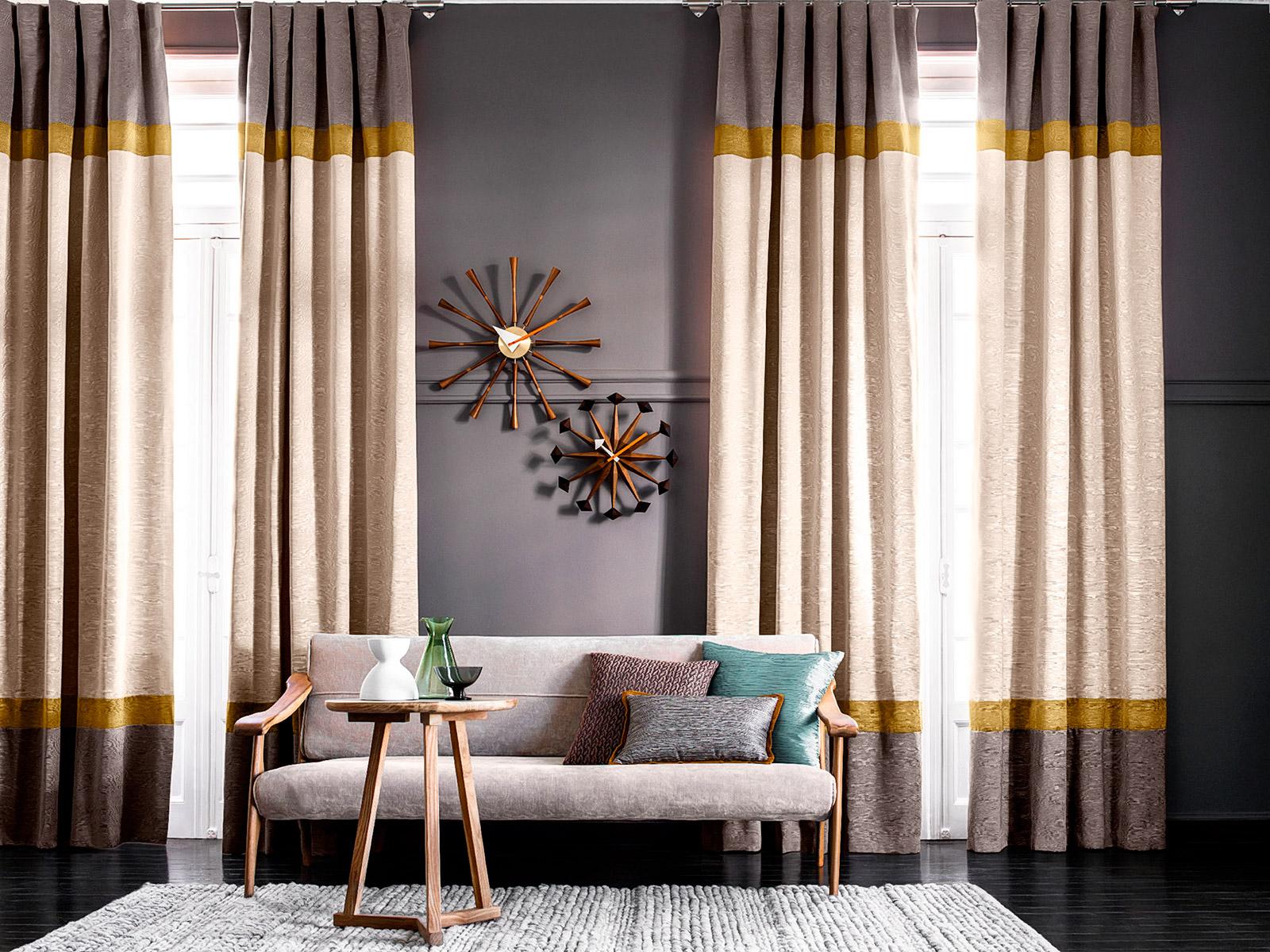шторы с полосами