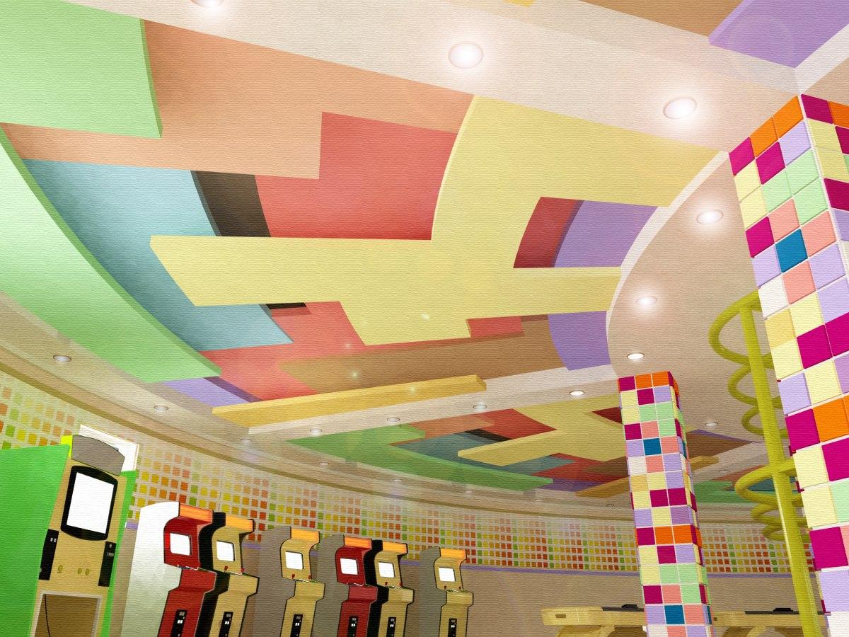 дизайн детского центра
