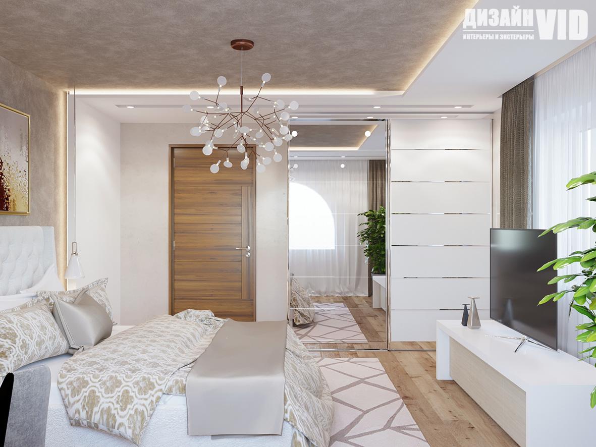 дизайн спальни в современном исполнении