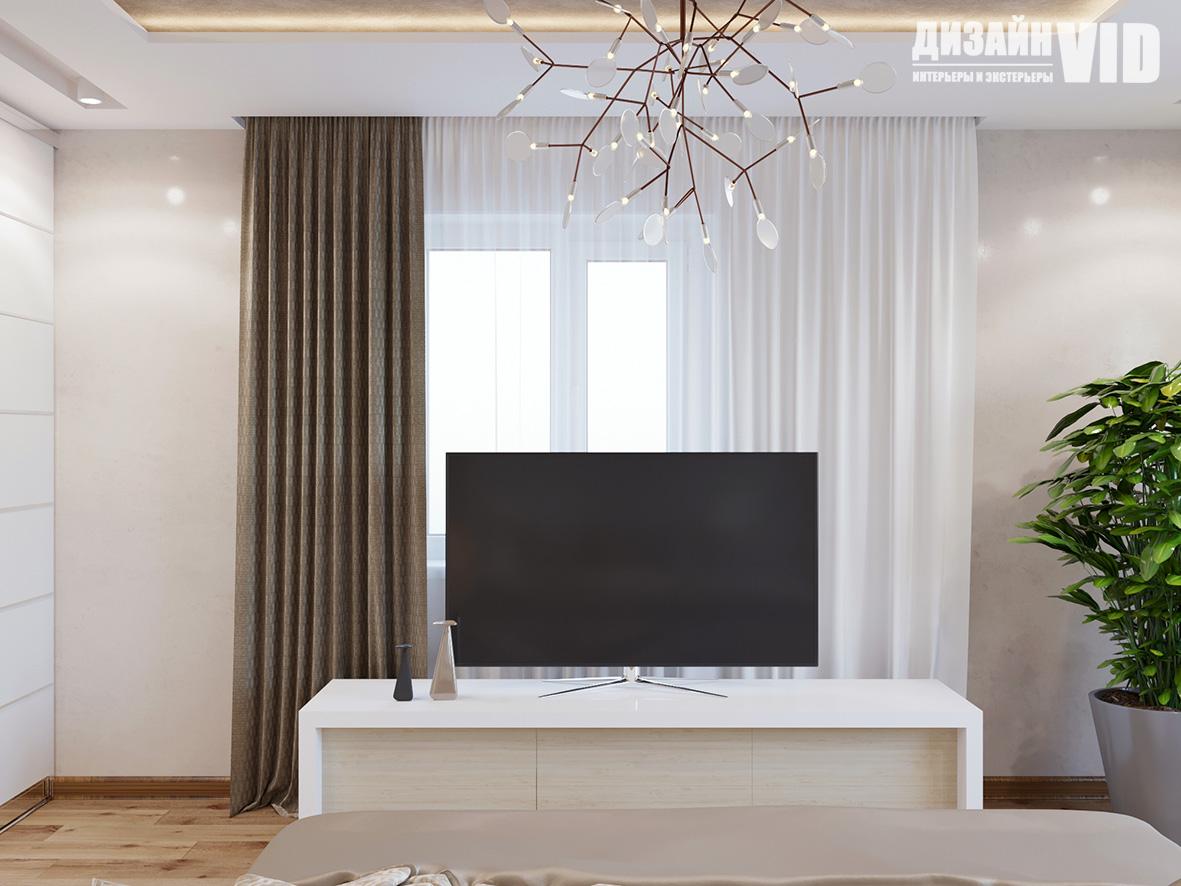 зонам телевизора в спальне