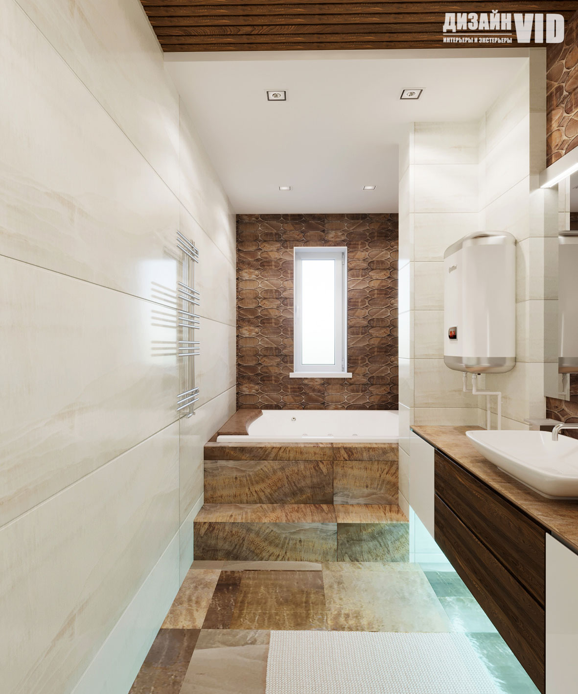 светодиодная подсветка в ванной