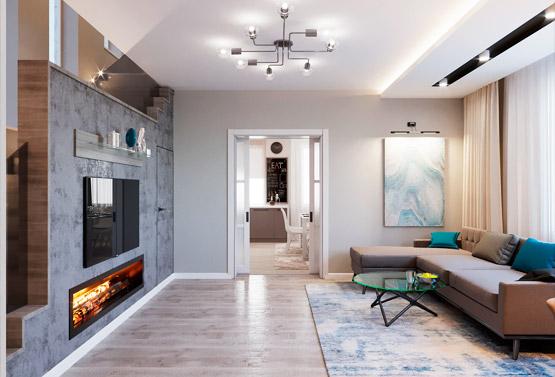Дизайн дома 146 кв
