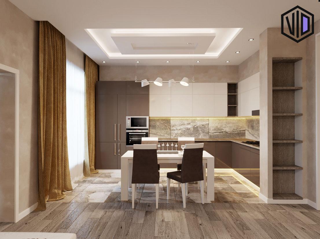 Дизайн кухни в современном интерьере