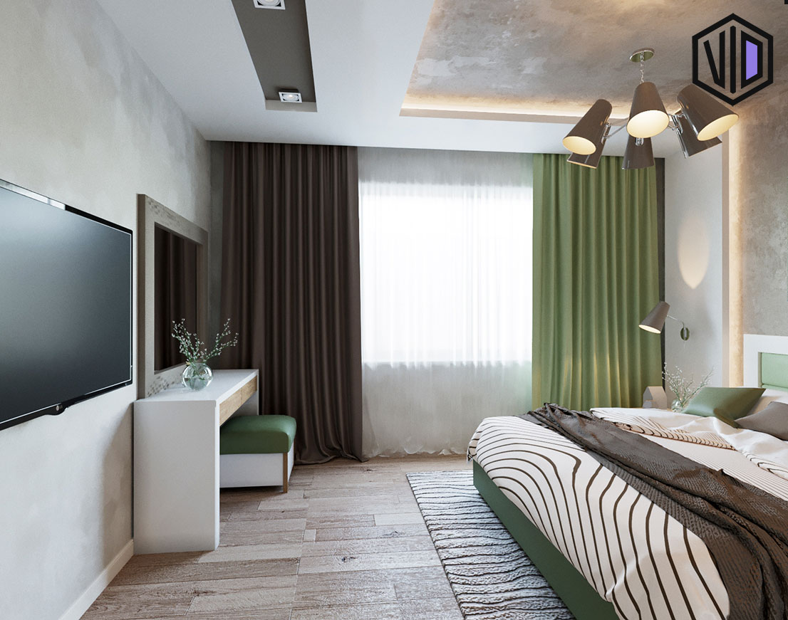 дизайн спальни в частном доме ростов-на-дону