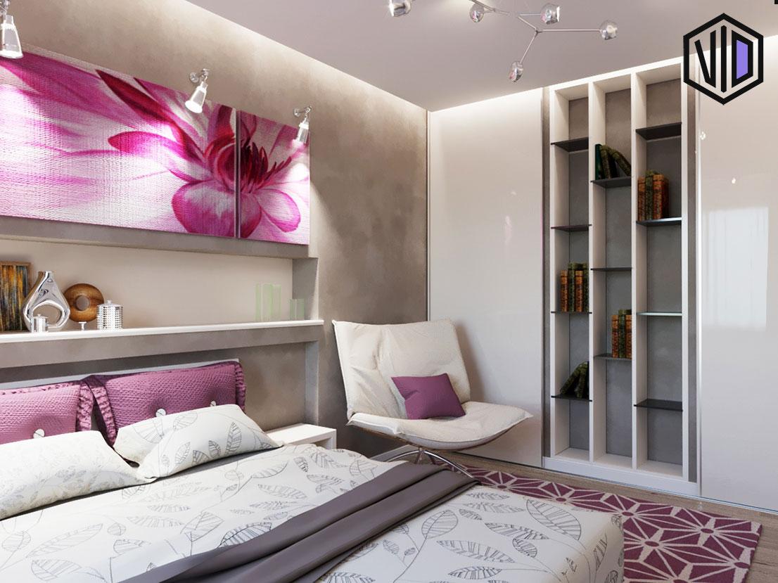 дизайн спальни для гостей в современном стиле