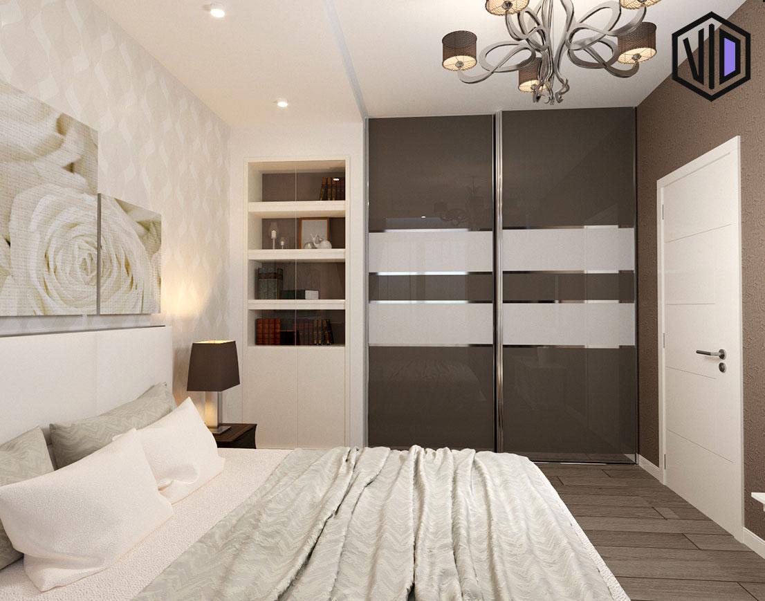 спальня с элементами современного стиля