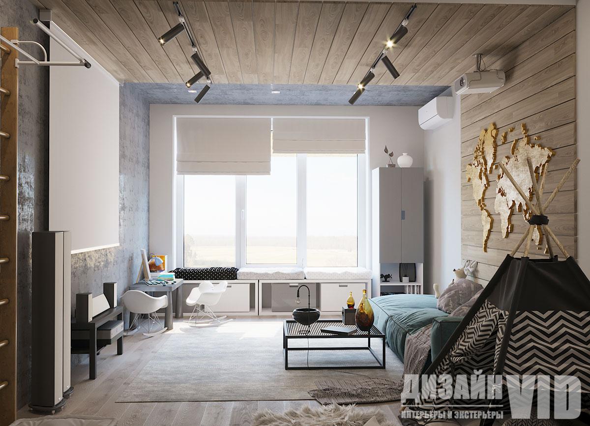 интерьер комнаты для молодой семьи