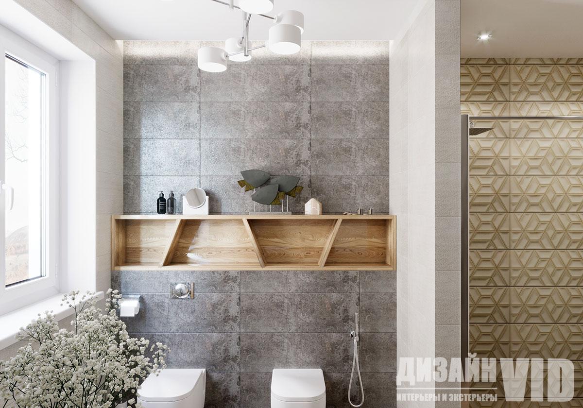 инсталляция в интерьере ванной