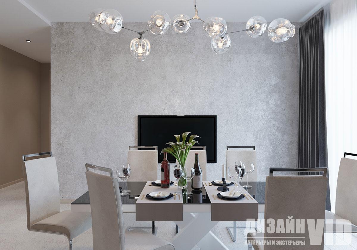 арт бетон в интерьере кухни