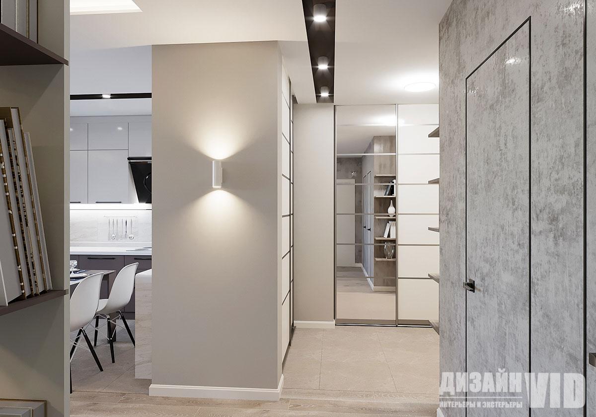 современный коридор в квартире
