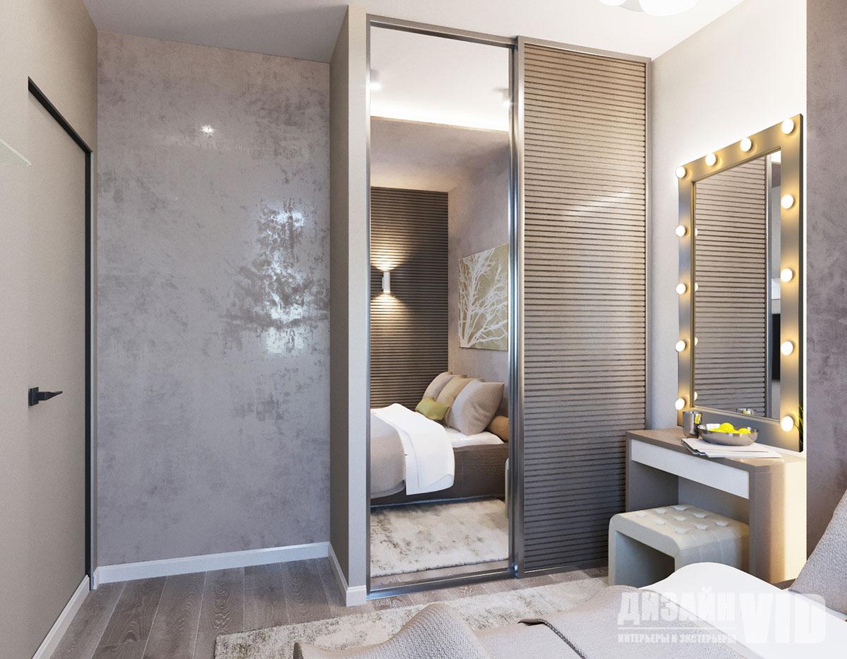 дизайн маленькой современной спальни