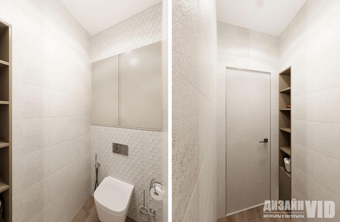 дизайн современного туалета в квартире