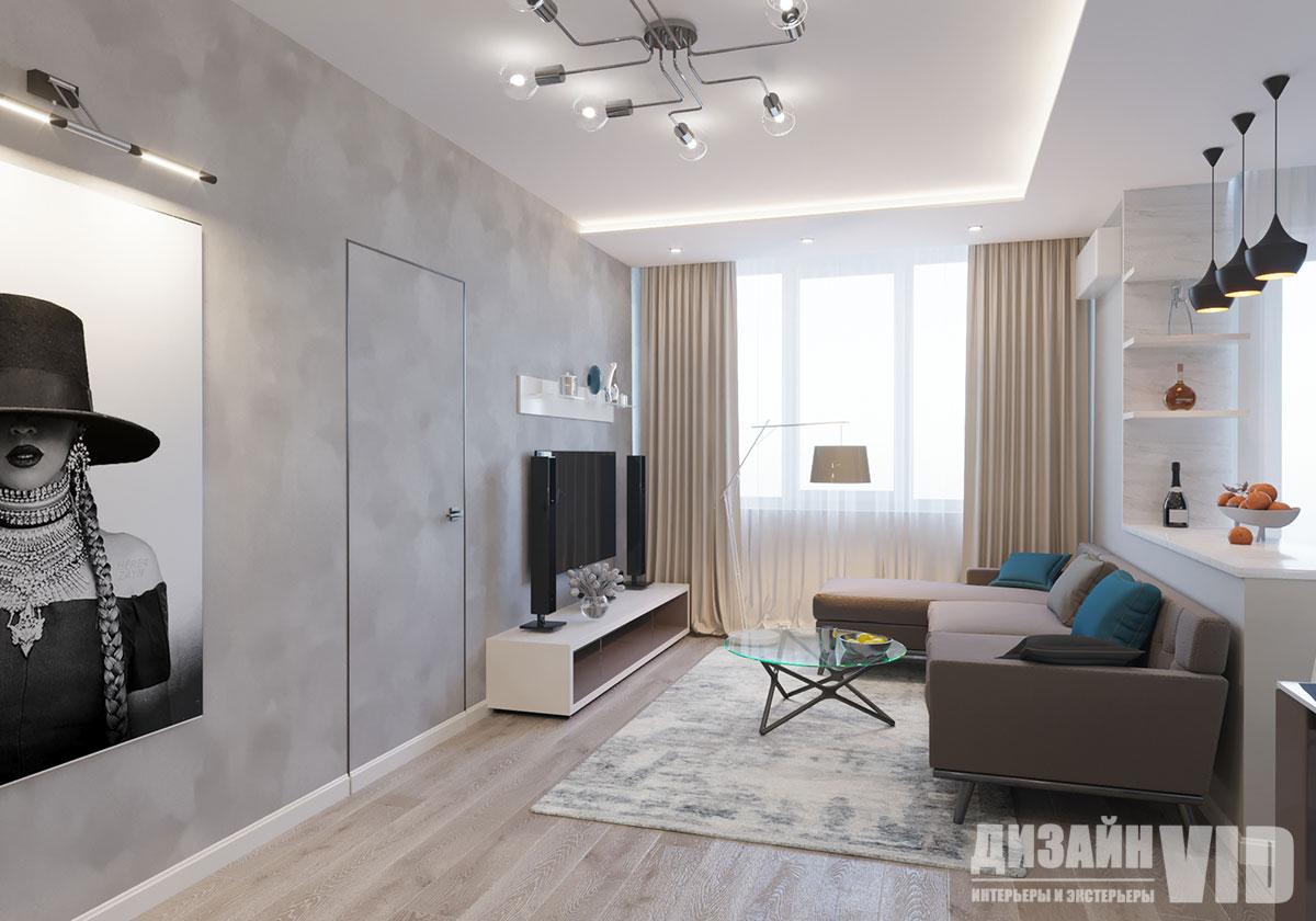 дверь инвизибл в современной квартире