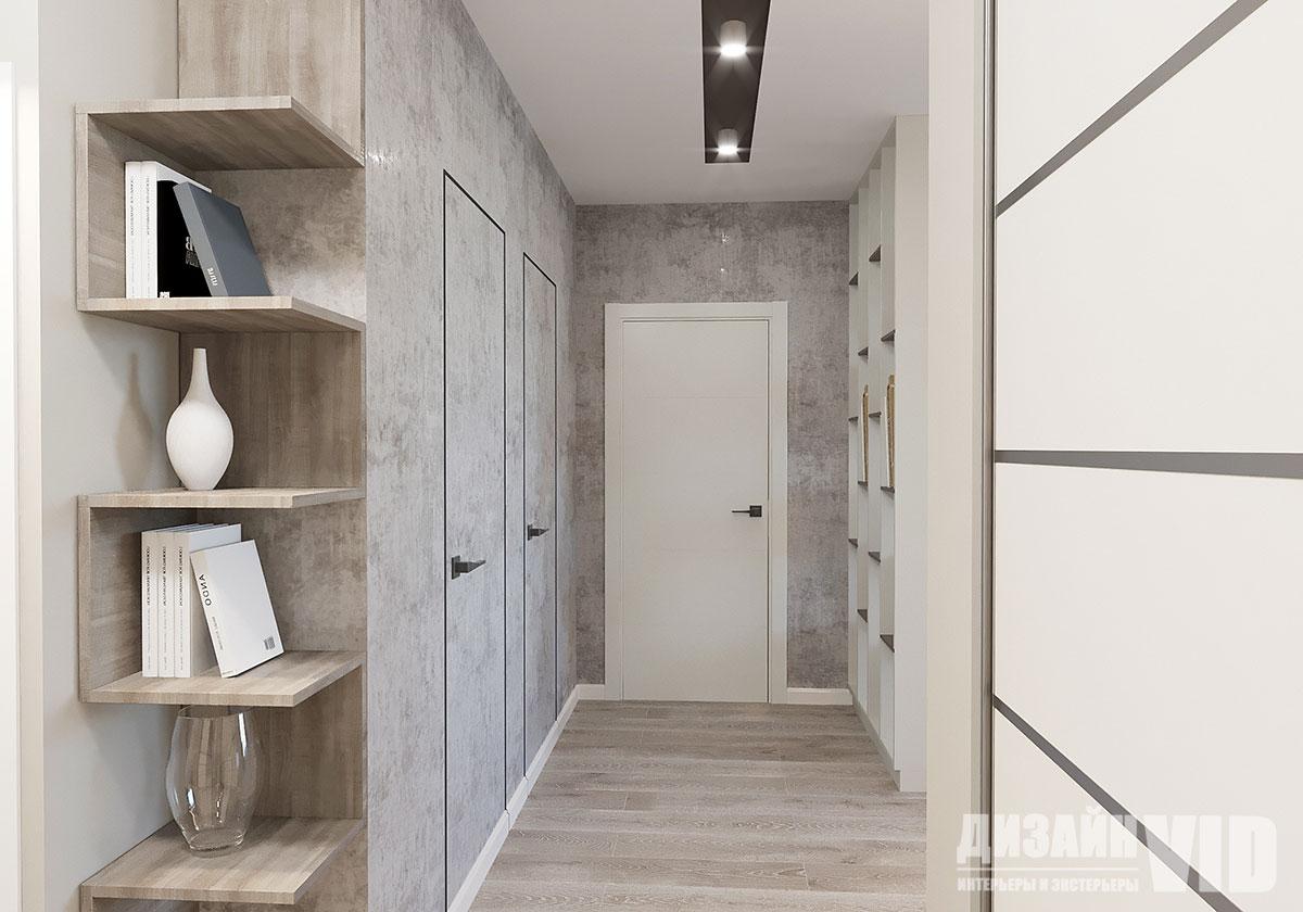 коридор в квартире 80 кв
