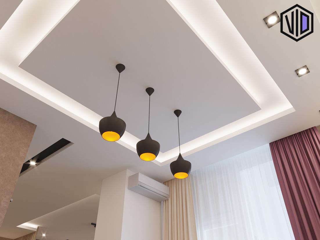 дизайн интерьера кухни в квартире 50 квадратов
