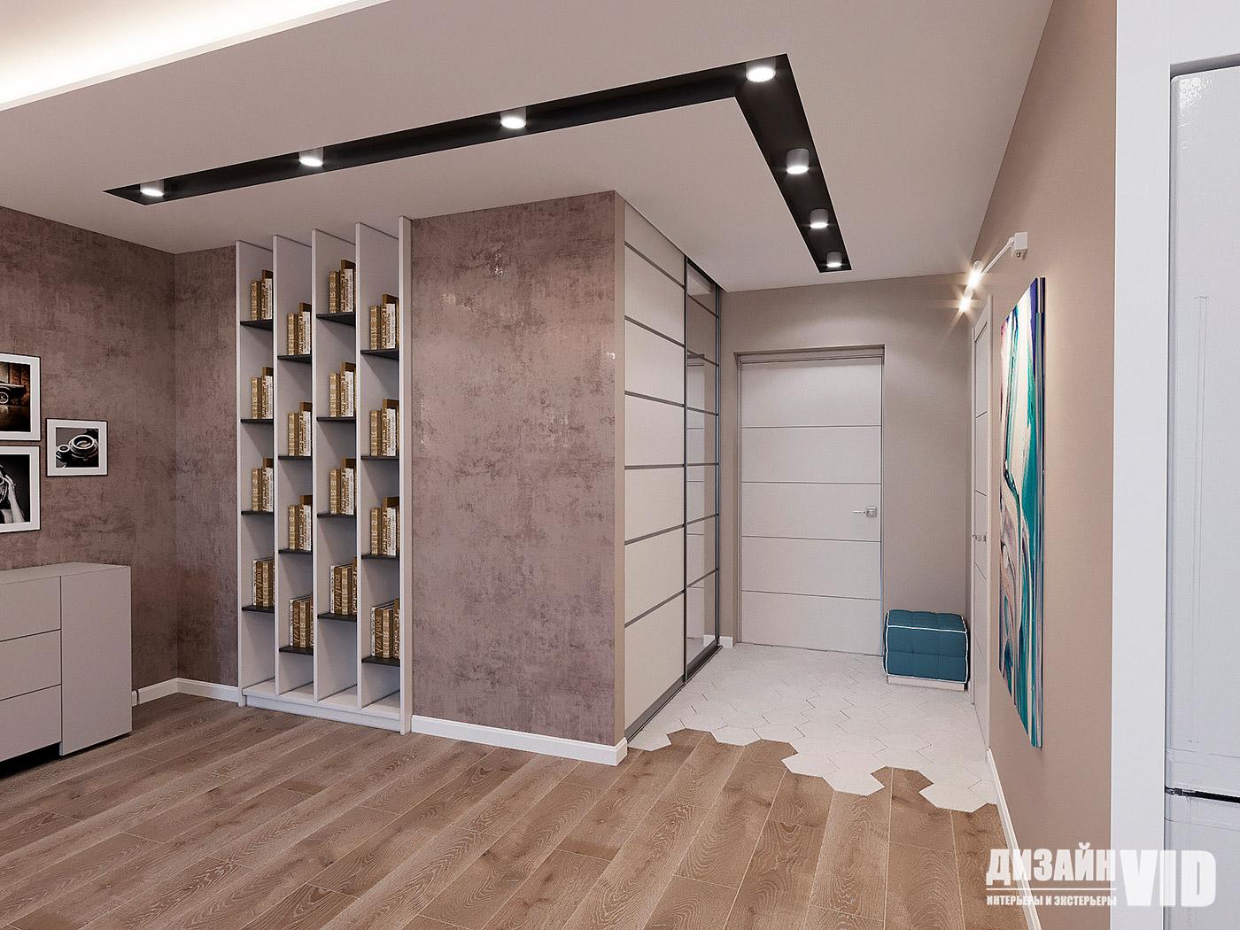 плитка шестигранник в интерьере квартиры