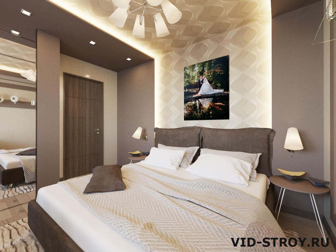 Дизайн мебели трехкомнатной квартиры