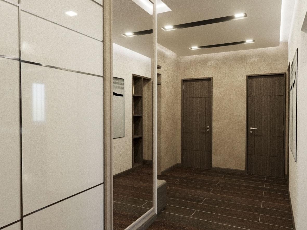 коридор квартиры в минимализме