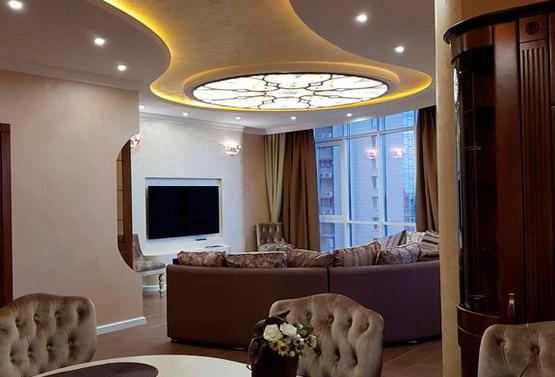 Дизайн трехкомнатной квартиры в модерне
