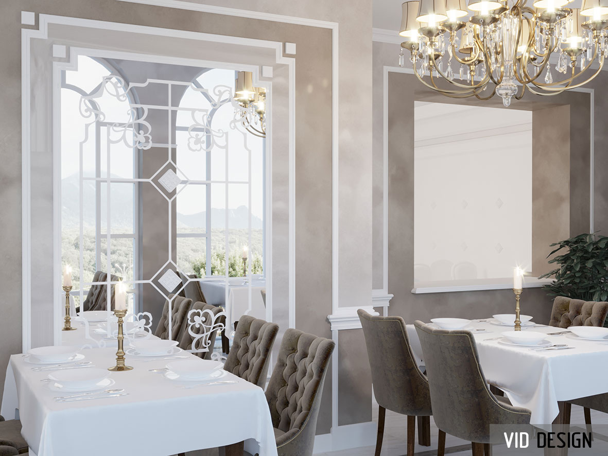 декоративное панно из стекла в интерьере
