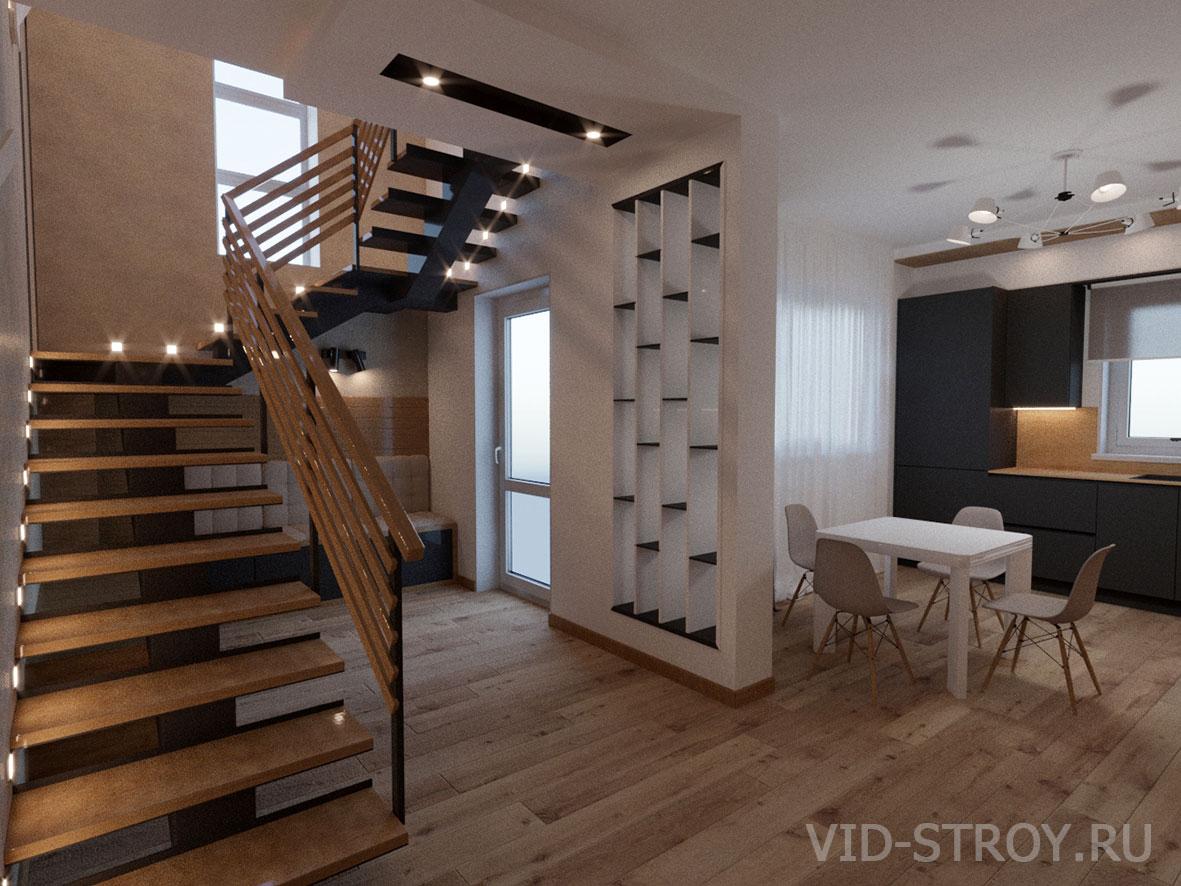 Дизайн лестничной зоны
