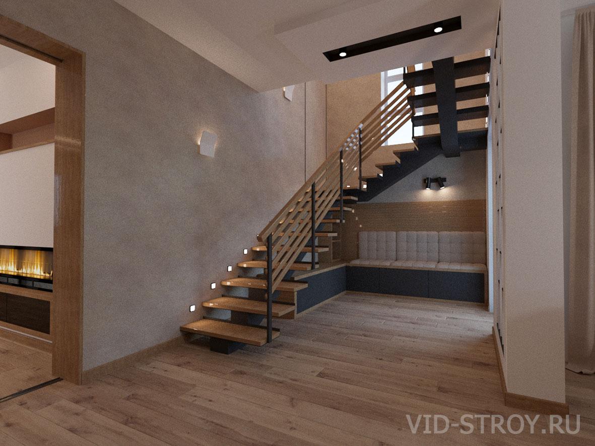 Дизайн интерьера входа в дом