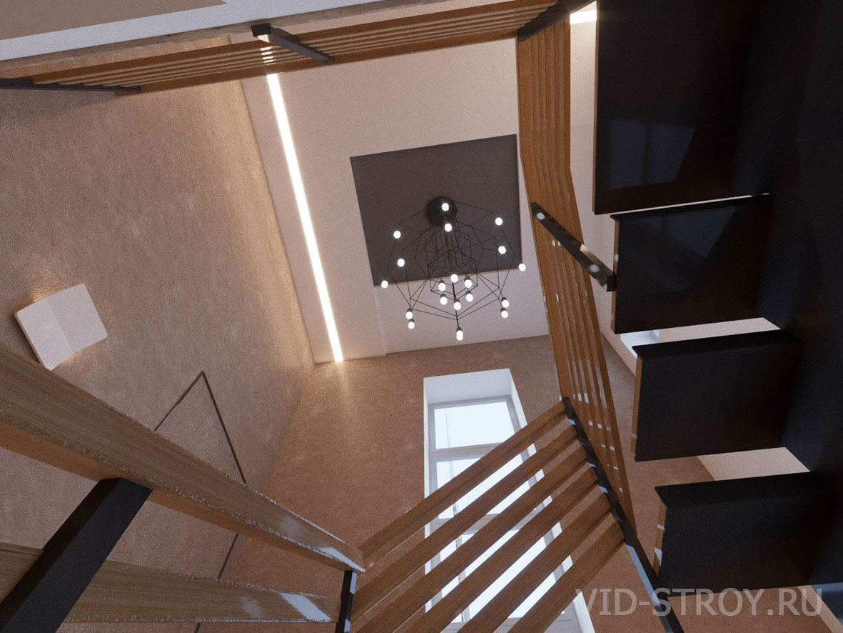 Дизайн атриума в доме