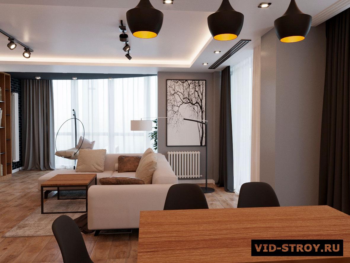Дизайн современной квартиры в ростове-на-дону