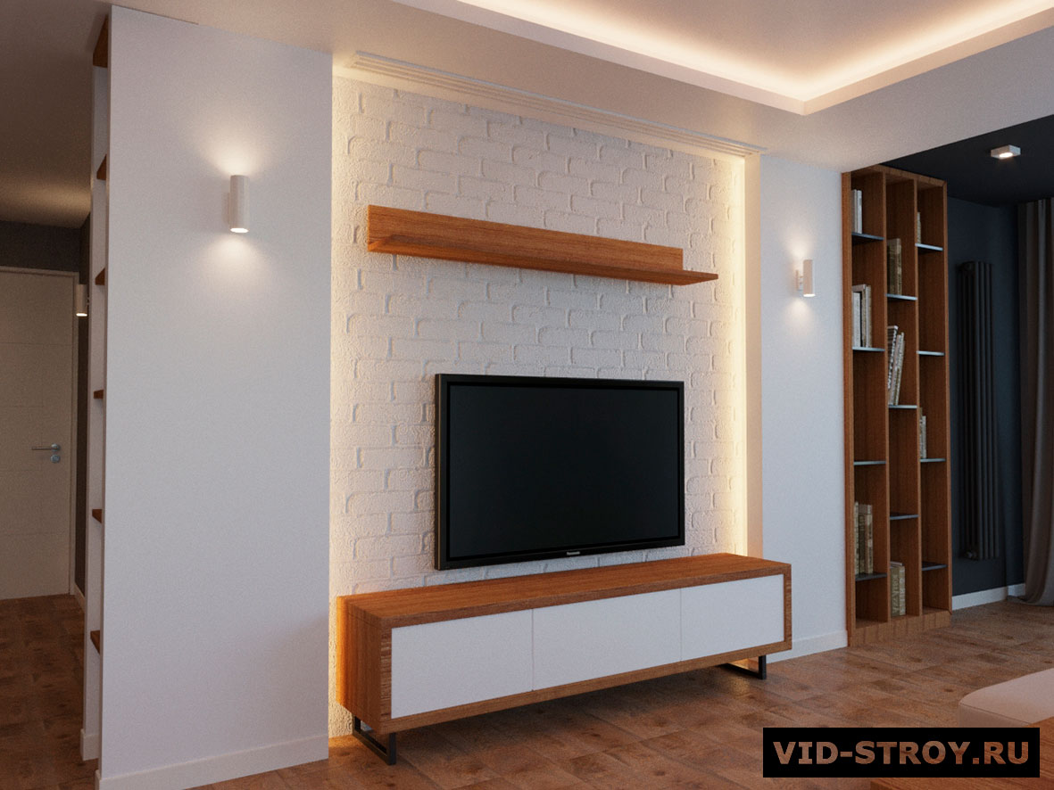 Дизайн интерьера минималистичной квартиры
