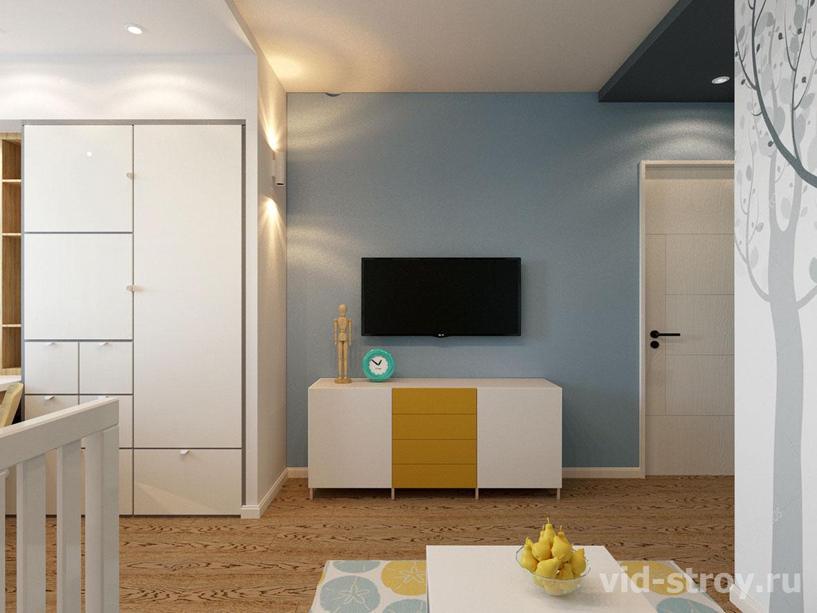 Детская в стиле современной квартире