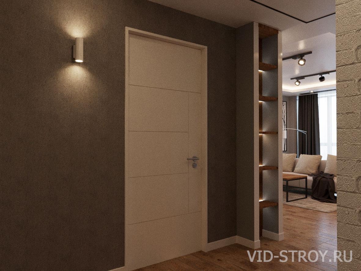 Дизайн коридора в квартире 100 квадратных метра