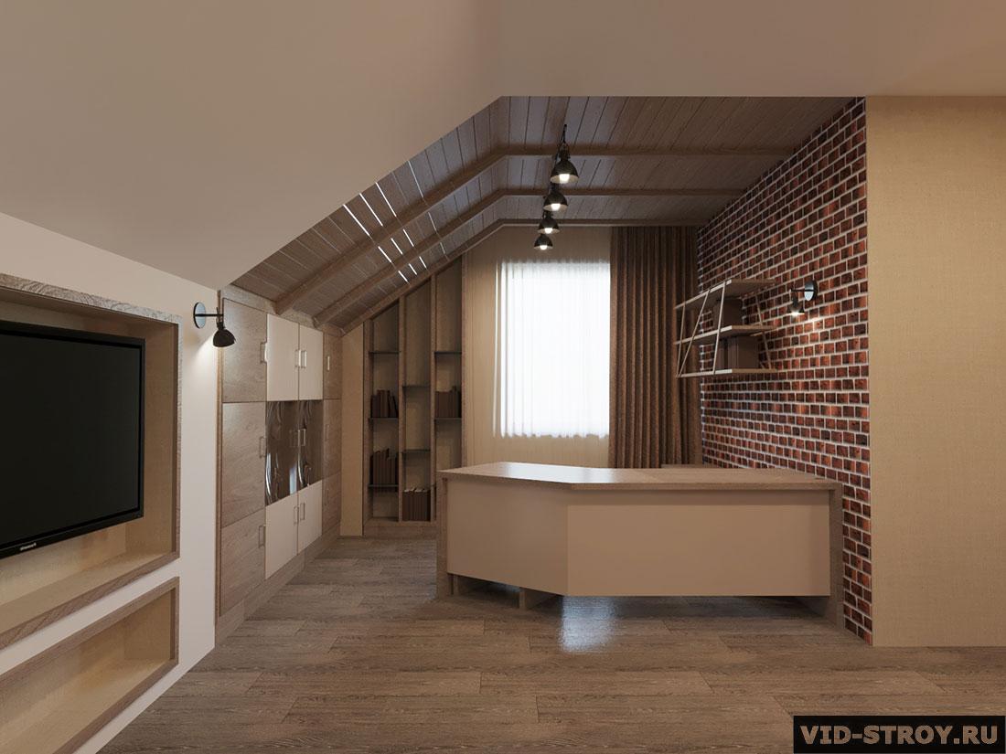 дизайн кабинета частного дома