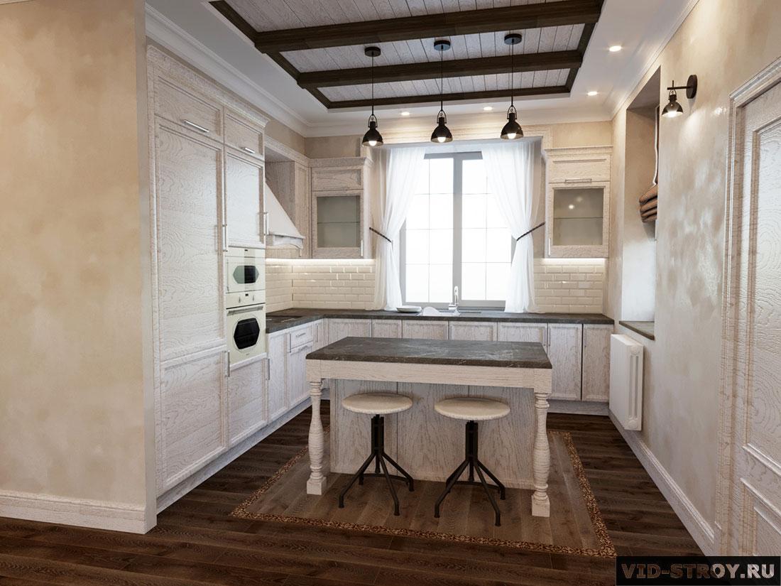 дизайн кухни в провансе