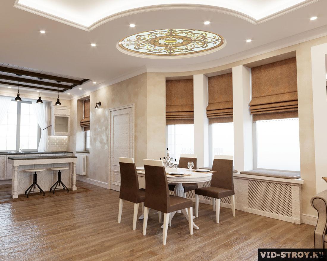 Дизайн потолка дома