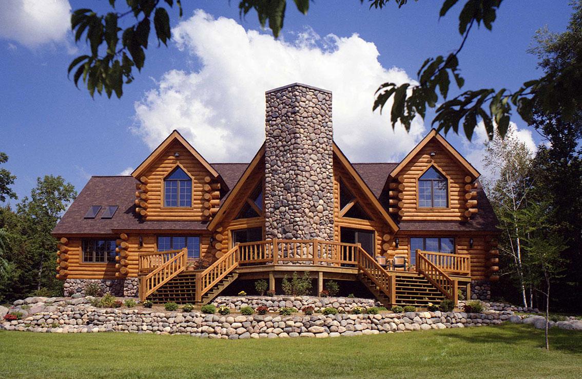 Самые красивые дома из дерева фото