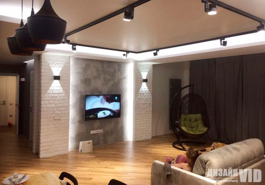Дизайн 3-х комнатной квартиры 100 квадратных метра