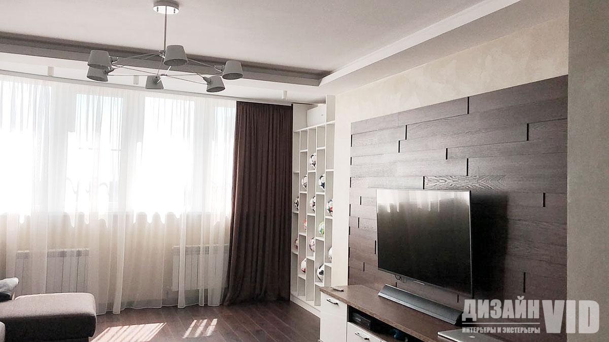 Реализованный дизайн квартиры в Ростове-на-Дону