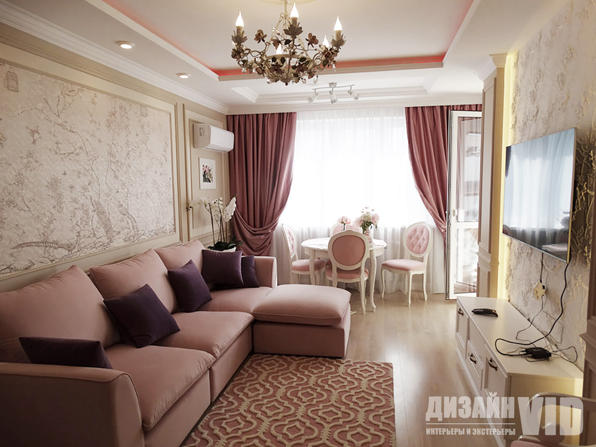 Дизайн и ремонт квартир в свадебном стиле