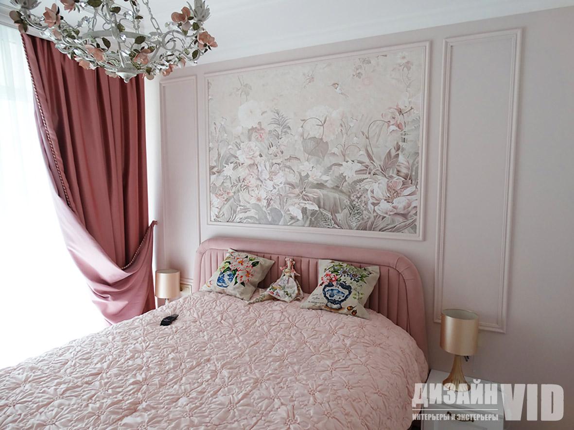 Дизайн и ремонт спальни в классике
